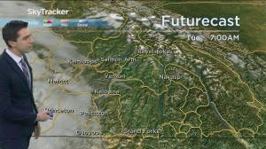 Kelowna Weather Forecast: April 27