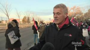 AUPE on why Alberta health-care support workers are striking (05:35)