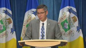 Winnipeg Mayor speaks on report to transfer over $300 million to sewer plant project (07:31)