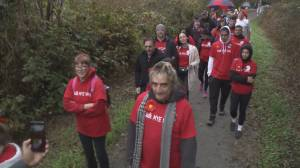 Dozens march in Vancouver to raise awareness of multiple myeloma