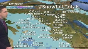 Chance of flurries: Oct. 19 Saskatchewan weather outlook