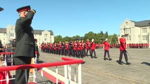 Virtual convocation ceremony for Class of 2020 at Kingston's Royal Military College