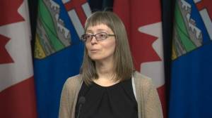 Alberta extends pandemic protocols for 6 more weeks (01:26)