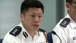 Hong Kong police say shooting of protester under investigation