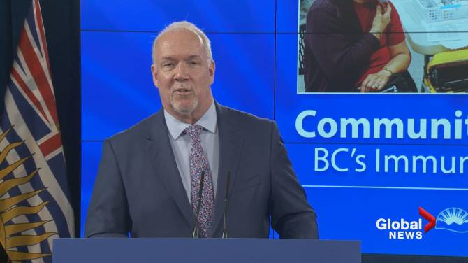 Click to play video: B.C. to hire out-of-work tourism and hospitality workers at COVID-19 vaccination clinics