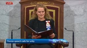 Throne Speech: Payette calls for unity among regions