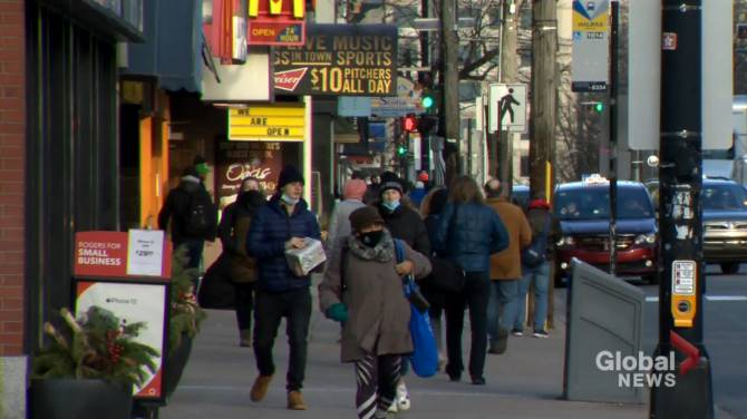 Click to play video: Halifax's population continues to rise
