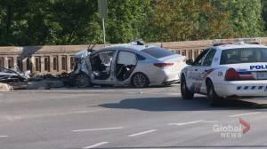 SIU investigating serious crash on Toronto bridge that sent woman to hospital
