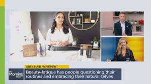 Embrace your grey hairs with beauty tips to boost your look (06:20)