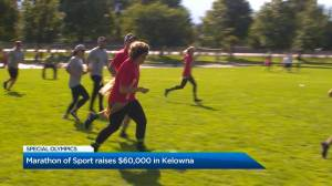 Marathon of Sport raises $60,000 in Kelowna for the Special Olympics