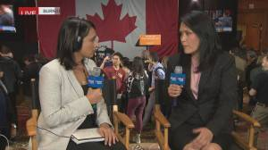 Federal Election 2019: NDP Jenny Kwan reacts to Liberal minority