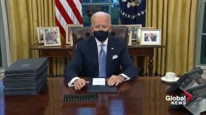 Alberta Premier Jason Kenney blasts President Biden on revoked Keystone XL permit (01:58)