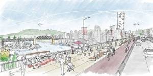 City of Vancouver unveils plans for Granville Bridge