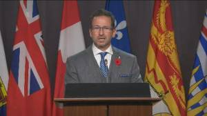 U.S. elections: Bloc Québécois leader says 'whole planet' will fare better if Trump loses (01:02)