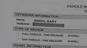 Concerns over parole granted to rapist