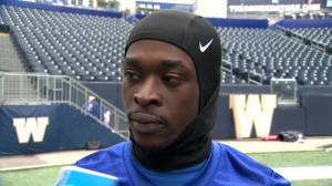 RAW: Blue Bombers Winston Rose Interview – Oct. 2