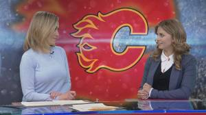 Calgary Flames season opener in Colorado