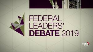 Federal Leaders' Debate 2019: Full