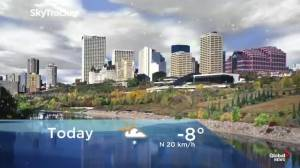 Edmonton early morning weather forecast: Tuesday, November 5, 2019