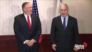 Iran top of agenda for Netanyahu, Pompeo meeting
