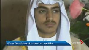 White House says Hamza bin Laden, son of Osama, killed in U.S. operation