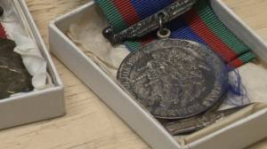 Medals from fallen WWII soldier given to Calgary granddaughter after being found in Goodwill donations