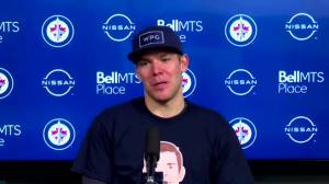 RAW: Winnipeg Jets Paul Stastny Interview – May 11 (07:58)