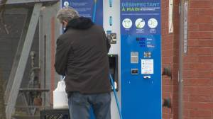 Quebec company converts windshield washer pump to dispense disinfectant