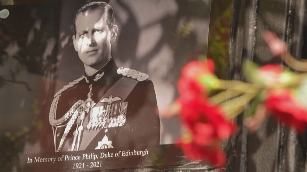 Click to play video: 'Funeral preparation underway for Prince Philip'