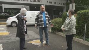 Burnaby co-op residents fear for future with building up for sale (02:00)