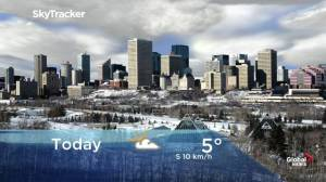 Edmonton early morning weather forecast: Friday, November 15, 2019