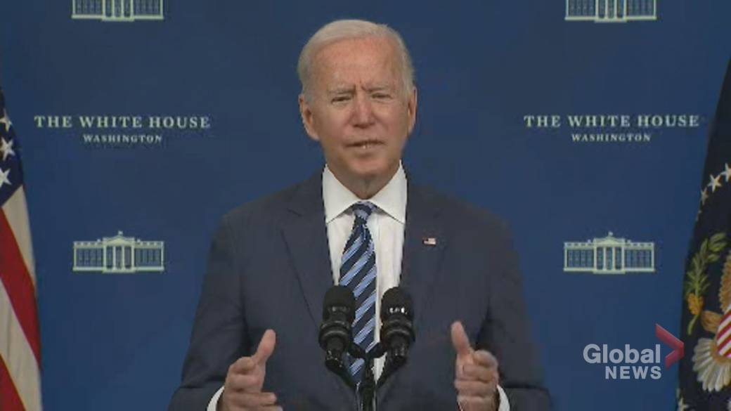 Click to play video: 'Hurricane Ida: Biden to travel to Louisiana to survey storm damage'