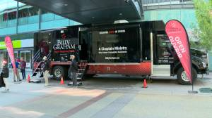 Billy Graham truck sparks concert for Calgary's LQBTQ community