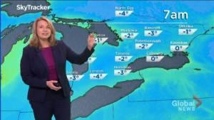 Peterborough Regional Weather Update: January 12, 2021 (02:38)