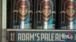 Health Matters: A beer can tribute to Alberta man who died of ALS (02:48)