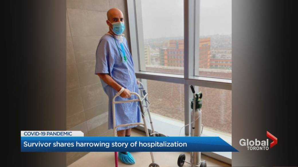 Click to play video: 'Toronto doctors say they're seeing more middle-aged people getting very sick with COVID-19'