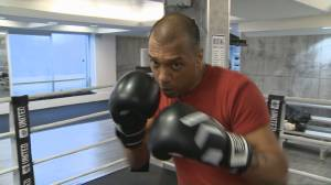 Toronto man with cerebral palsy preparing to fight in boxing ring