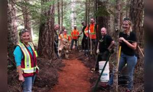 Inaugural B.C. Trails Day celebrates the volunteers who upkeep B.C.'s trails system (02:19)