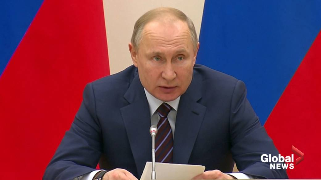 Russia S Vladimir Putin Turns Down Idea Of Soviet Style Leaders For Life National Globalnews Ca
