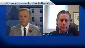 Queen's University to welcome 200 international students to Kingston campus for the winter semester (03:20)