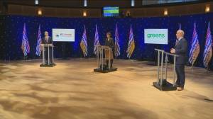 B.C. Leaders debate 2020: Personal experience with white privilege in politics