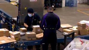 Transport companies advise early online holiday shopping amid COVID-19 pandemic (02:11)