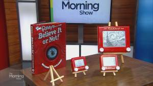 Creating an Etch A Sketch masterpiece