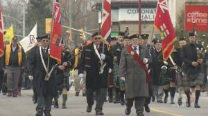 Omemee Remembrance Day parade rekindles emotional memories