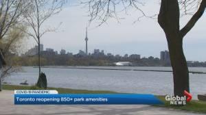 Coronavirus: Toronto to reopen hundreds of parks amenities