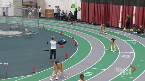 Huskies Michelle Harrison sprinting towards Olympic goal | Watch News Videos Online