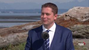 Federal Election: Scheer questioned about timing of Conservative platform