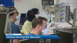 Foreign-trained doctors face barriers to work on the frontlines of the pandemic in Canada (04:16)