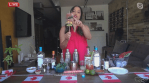 Canada Day Cocktails