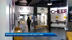 WinSport opens ski and snowboard hill with new COVID-19 restrictions (02:58)